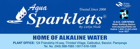 Aqua Sparkletts - Home of